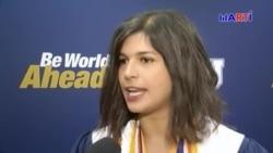Joven cubana se gradúa con altos honores en FIU