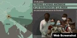 Familiares en la India lloran a los marinos asesinados por navío de China