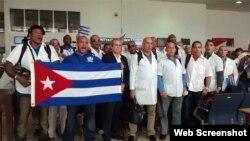 Médicos cubanos en Ecuador: (Foto: Facebook)