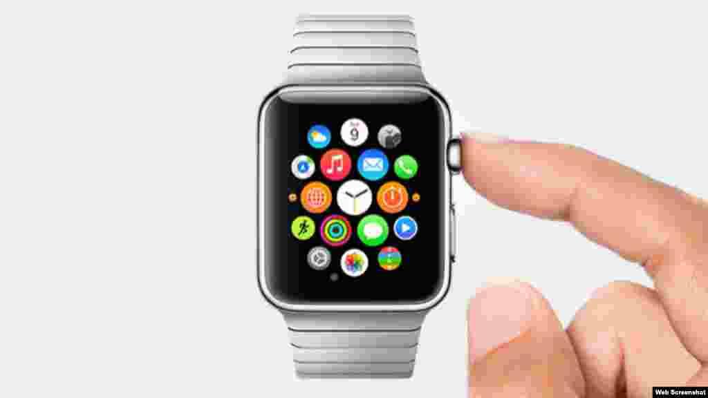 El iWatch presentado por Apple.