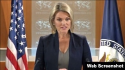 Heather Nauert, Vocera del Departamento de Estado de EEUU.