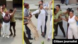 Las Damas de Blanco sufrieron más de la mitad de las 202 detenciones arbitrarias documentadas por la CCDHRN en octubre de 2018