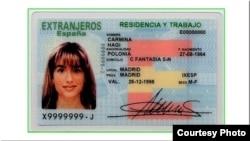 Residencia permanente en España.