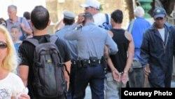 Arrestos en Cuba