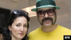 Cucu Diamantes y su esposo Andrés Levin
