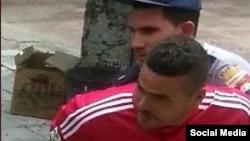 Arresto de Omar Portieles.