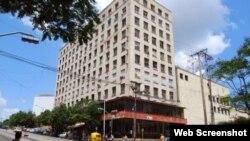 Edificio del ICRT, en el Vedado, La Habana.