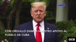 Palabras del Presidente Donald Trump a los cubanos