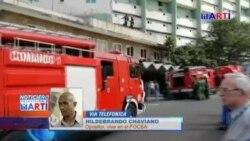 Incendio en el emblemático edificio FOCSA