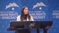 Activista denuncia en Ginebra violación de DDHH en Cuba