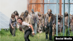 "Fotograma de ""The Walking Dead""."
