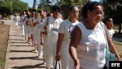 Dedican a Laura Pollán marcha dominical en La Habana