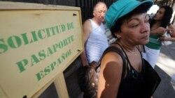Años de trabajo en la isla no cuentan en pensiones de jubilados cubanos en España