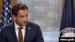 """""""Nuestros dos gobiernos mantienen su derecho soberano de emitir o negar visas a individuos específicos"""". Michael Palladino, portavoz, Departamento de Estado."""