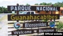 Entrada al Parque Nacional de Guanahacabibes en Pinar del Río (Foto: Ecured).