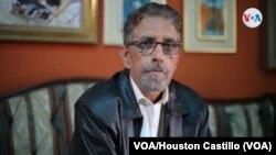 El exvicecanciller en los años 1980 Victor Hugo Tinoco fue la última persona que fue detenida el domingo 13 de junio de 2021 en Nicaragua. Foto Houston Castillo, VOA.