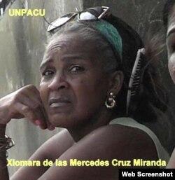 Xiomara de las Mercedes Cruz Miranda