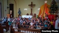 Encuentro de jóvenes católicos. (Tomado de Facebook de Pastoral Juvenil de La Habana)
