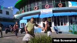 Arrestan a Eralidis Frómeta Captura de Pantalla Canal You Tube Delibera.