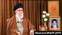 Ali Khamenei, líder supremo de Irán. (Khamenei.IR/AFP)