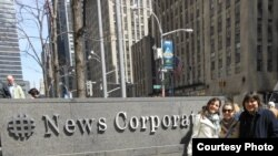 Rosa Maria Payá y Regis Iglesias en News Corp