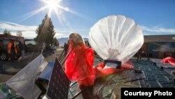 Globos aerostáticos lanzados por Google para ofrecer internet en zonas sin cobertura.