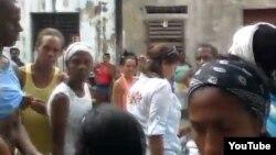 Desalojo en la Habana Vieja
