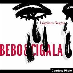 """Portada de Lágrimas Negras, por Bebo Vald´pes y Diego """"El Cigala"""""""