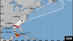 Hurricane Michael - 7:00 PM - 10/08/2018