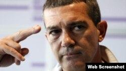 Antonio Banderas, foto de Archivo.
