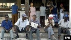 Ancianos cubanos priorizan la alimentación