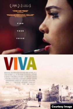 "Cartel de ""Viva""."