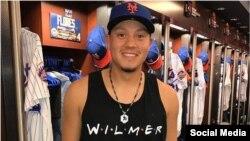 Wilmer Flores jugó con los Mets de Nueva York en la temporada pasada. (Foto publicada en su cuenta de Instagram)