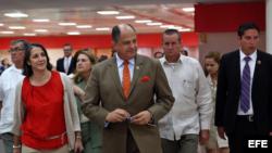 Primera visita de gobernante tico a Cuba desde 1943