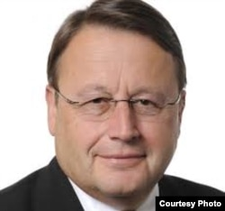 El eurodiputado Paul Rübig.