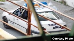 Auto patrulla de la policía cubana (PNR).