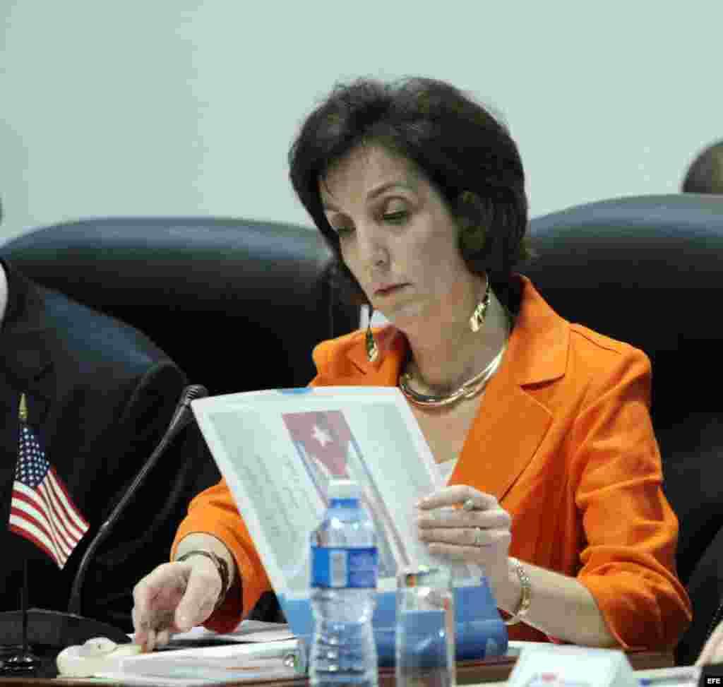 Roberta Jacobson es la funcionaria estadounidense de mayor nivel que visita Cuba en décadas.