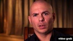 Pitbull en entrevista con Fuse.TV (Captura de imagen/Fuse)