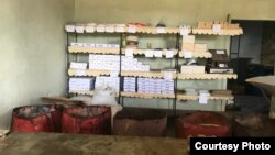 Tienda de venta estatal en Cuba / Cortesía de Gil Castillo