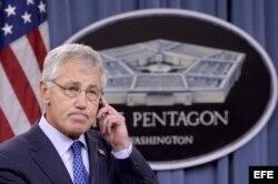 El secretario de Defensa de Estados Unidos, Chuck Hagel.