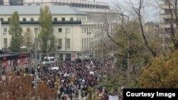 Protesta estudiantil en Bulgaria