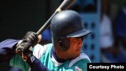 Michel Enríquez, apodado el Super 12 de la pelota cubana