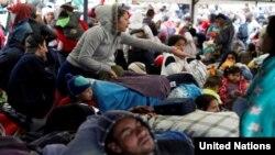 Refugiados venezolanos en América Latina. (ACNUR).