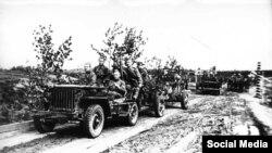Jeeps estadounidenses para las tropas soviéticas