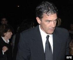 Foto de archivo de 2008 del actor Antonio Banderas.