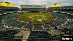 El Ring Central stadium de Oakland, California.