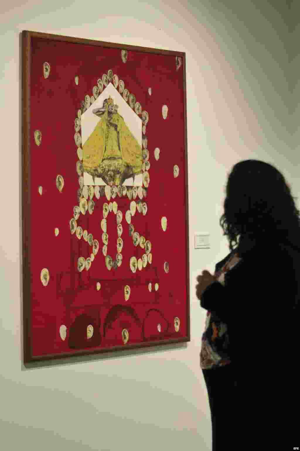 """Obra """"Óyeme Cachita 2012"""", de la artista cubana Liumila López, que integra la exposición """"Virgen de la Caridad del Cobre"""" inaugu"""