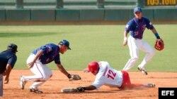 Béisbol cubano. Archivo.