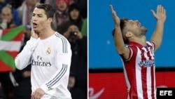 Las dos caras de la moneda en la liga Española de Fútbol.