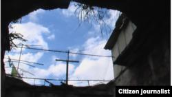 Reporta Cuba. Vivienda en la Habana Vieja. Foto: Reinaldo García.